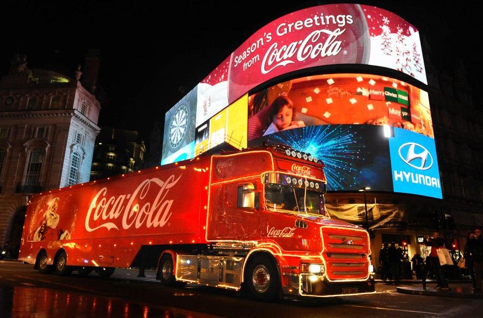 Coca-Cola caminhão